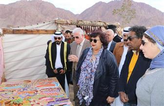 محافظ جنوب سيناء ووزيرة الثقافة يشهدان ختام مشروع قوافل الوديان الثقافية | صور
