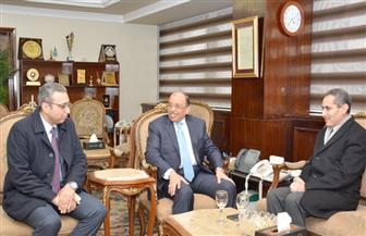 وزير التنمية المحلية يبحث خطة عمل محافظة الغربية