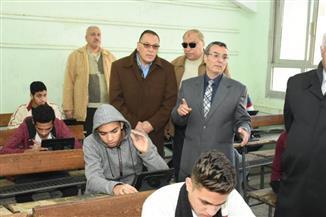 محافظ الشرقية يتفقد لجان امتحانات الصف الثاني الثانوي |صور