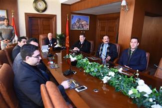 محافظ بورسعيد يطالب أعضاء الهيئة العليا لحزب المؤتمر بتوعية المواطنين |صور