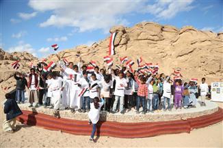 وزيرة الثقافة ومحافظ جنوب سيناء يشهدان ختام فعاليات القافلة الثقافية بوادي سبتة |صور