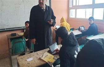 """""""تعليم مطروح"""": ١٨٦٠ طالبا أدوا امتحان اللغة العربية إلكترونيا بالصف الثاني الثانوي"""