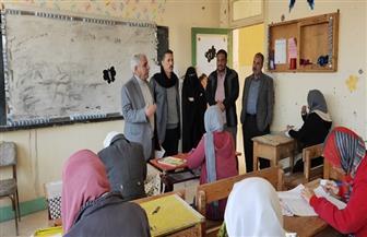 وكيل تعليم شمال سيناء يتفقد الامتحانات بمدارس الشيخ زويد |صور