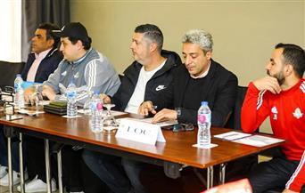 تفاصيل الاجتماع الفني لمباراة بيراميدز والمصري | صور