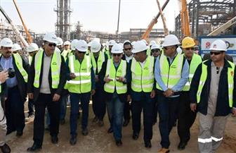 وزير البترول يعطي شارة بدء تشغيل خط أنابيب بوتاجاز رأس بكر- أسيوط | صور