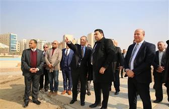 وزير الاتصالات يتفقد نادي المصرية للاتصالات لمتابعة الموقف التنفيذي للإنشاءات | صور