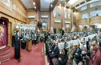 الاحتفال بمرور 100 عام على إنشاء كنيسة مار جرجس بدسوق| صور