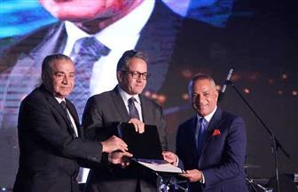 """""""مستقبل وطن"""" يكرم الإعلامي أحمد موسى في احتفالية المبدعين ٢٠١٩"""