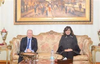 وزيرة الهجرة تلتقي السفير الأسترالي بالقاهرة للتعريف بجهود مصر في مكافحة الهجرة غير الشرعية