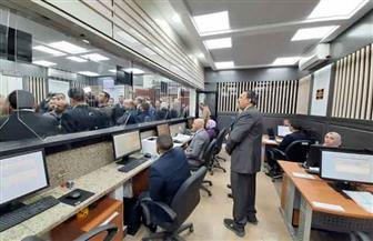 وزارة العدل تفتتح أعمال ميكنة محكمة الجيزة الابتدائية | صور