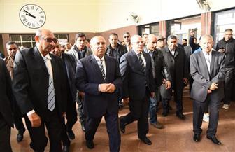 وزير النقل ومحافظ بورسعيد يفتتحان أعمال تطوير محطة السكة الحديد | صور