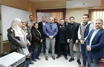"""شعبة """"المحررين الاقتصاديين"""" تنظم ورشة عمل مع الجمعية المصرية للمحللين الفنيين"""