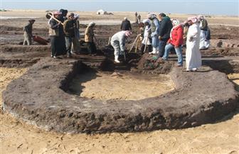 بدء أعمال حفائر الإنقاذ لموقع أثري مكتشف حديثا بمنطقة شرق التفريعة شمال سيناء | صور