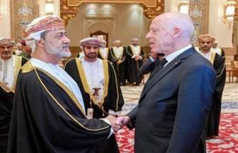 الرئيس التونسي يصل إلى عمان للتعزية في وفاة السلطان قابوس