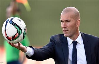 «زيدان» يشيد بدور «كورتوا» في صدارة ريال مدريد لترتيب الليجا