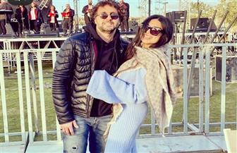 هشام ماجد يوجه رسالة رومانسية لزوجته في عيد ميلادها | صور