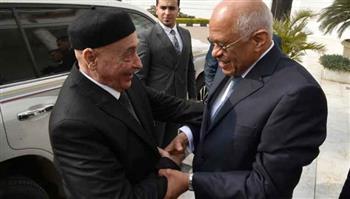 علي عبدالعال يستقبل عقيلة صالح رئيس مجلس النواب الليبي | صور