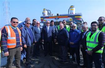 وزير النقل يتفقد عددا من المشروعات ببورسعيد.. ويوجه بعمل دراسة لحالة كوبري الرسوة | صور