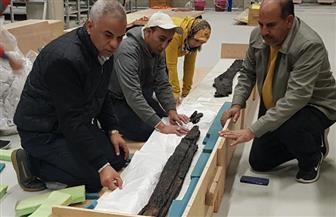 المتحف المصري الكبير يستقبل 202  قطعة أثرية | صور