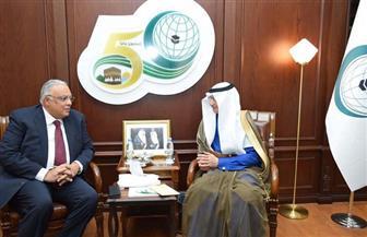 الأمين العام لمنظمة التعاون الإسلامي يستقبل مساعد وزير خارجية مصر