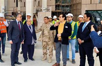 فاروق حسني يزور المتحف المصري الكبير بدعوة من وزير السياحة والآثار | صور