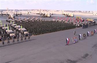 """""""قادر 2020"""".. إسقاط خلف خطوط العدو بـ""""الشينوك"""" المحملة على الميسترال.. وتقابل قوات صديقة بالمتوسط   صور"""
