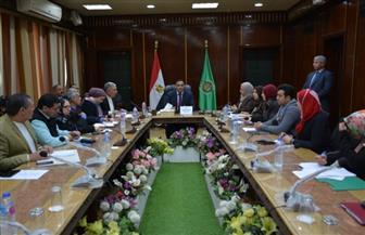 محافظ الدقهلية يجتمع برؤساء المراكز والمدن والأحياء وافتتاح إدارات الأزمات ٥ فبراير