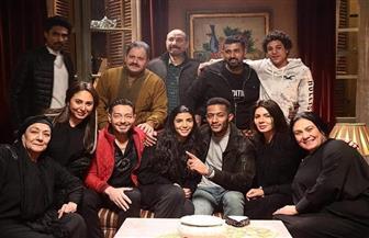 """محمد رمضان وأحمد زاهر في كواليس مسلسل """"البرنس"""""""