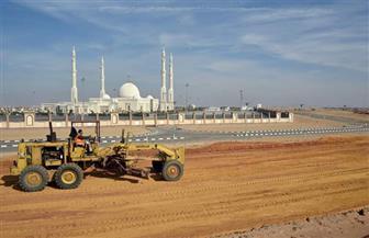 صلاح يتفقد سير العمل وأعمال الإنشاءات بمنطقة A -01 CP بالعاصمة الإدارية | صور