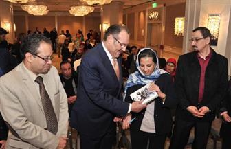 مناقشة «ممرات الريح» للروائية السعودية نبيلة محجوب بحضور السفير أسامة نقلي   صور