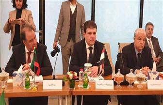 حسين زين يشارك باجتماعات مجلس وزراء الإعلام العرب بالإمارات | صور