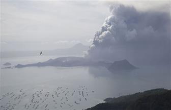 """فلبين تحذر النازحين: مخاطر ثوران """"بركان تال"""" لا تزال مرتفعة"""