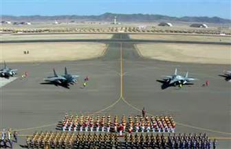 الرئيس السيسي يشهد استعراض حرس الشرف بقاعدة برنيس العسكرية