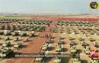 الرئيس السيسي يشاهد فيلما تسجيليا عن قاعدة برنيس العسكرية