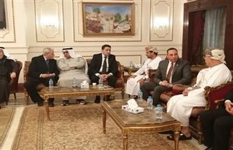 سفارة عمان بالقاهرة تفتح أبوابها لتلقي التعازي في وفاة السلطان قابوس |صور