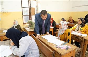محافظ المنوفية يتفقد لجان امتحانات الشهادة الإعدادية | صور