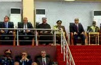 """الرئيس السيسي وضيوف مصر يشهدون عددا من الأنشطة التدريبية فى إطار المناورة """"قادر 2020"""""""