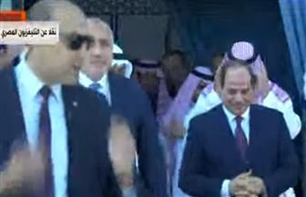 الرئيس السيسي يصل مركز القيادة الاستراتيجية بقاعدة برنيس العسكرية