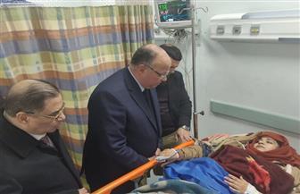 محافظ القاهرة يزور الأطباء مصابي حادث طريق الكريمات | صور