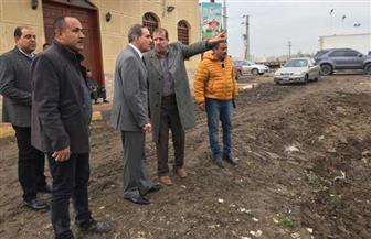 محافظ كفرالشيخ يوجه بترميم الحفر وتمهيد الطرق | صور