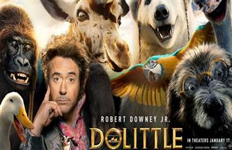 روبرت داوني جونيور يتحدث إلى الحيوانات في فيلم Dolittle