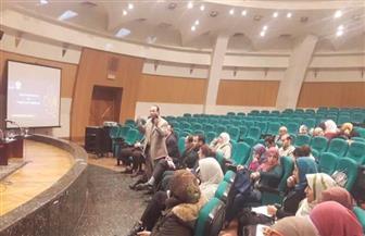 ورشة عمل بجامعة حلوان فى كتابة المشاريع البحثية وطرق التقدم للمنح