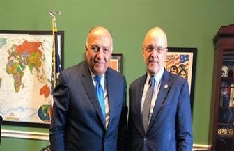 وزير الخارجية يجتمع مع رئيس اللجنة الفرعية للشرق الأوسط بمجلس النواب الأمريكي