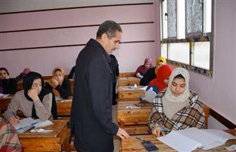 محافظ الغربية يتابع سير امتحانات الشهادة الإعدادية والنقل بالثانوي العام في كفرالزيات| صور