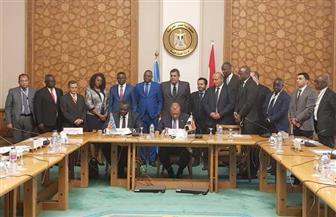 وزيرا الاتصالات والصناعة للكونغو الديمقراطية يقومان بزيارة إلى مصر