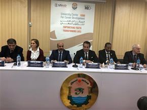 وزير التعليم العالي يفتتح مركز جامعة أسوان للتدريب المهني