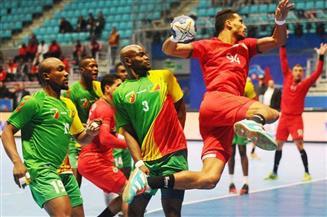 نتائج مباريات الفترة الصباحية بأمم إفريقيا لكرة اليد