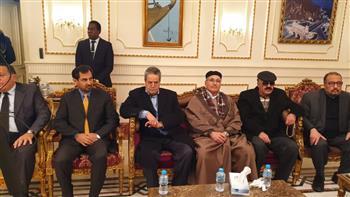 سفارة عمان بالقاهرة تتلقى التعازي في وفاة السلطان قابوس بن سعيد | صور