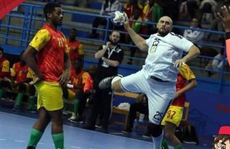 مصر تفوز على غينيا في أولى مباريات أمم إفريقيا لكرة اليد