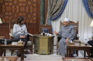 الإمام الأكبر: حماية الشباب من الأفكار المتطرفة على رأس أولويات الأزهر|صور
